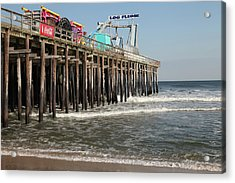 Casino Pier  Seaside  Nj Acrylic Print by Neal Appel