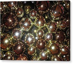 Acrylic Print featuring the photograph Casino Sparkle Interior Decorations by Navin Joshi