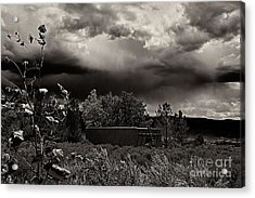 Casita In A Storm Acrylic Print