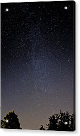 Acrylic Print featuring the photograph Cassiopeia And Andromeda Galaxy 01 by Greg Reed