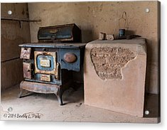 Cast Iron Acrylic Print by Beverly Parks