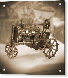 Cast Iron Toys Acrylic Print