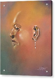 Acrylic Print featuring the painting Cast Reflectionn 1 by Al Brown