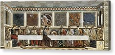 Castagno, Andrea Del 1423-1457. Last Acrylic Print by Everett