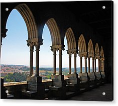 Acrylic Print featuring the photograph Castel Leiria by Gerry Bates