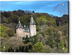 Castell Coch Cardiff Acrylic Print by Steve Purnell