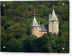 Acrylic Print featuring the photograph Castell Coch by Jeremy Voisey