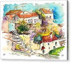 Castelo De Vide 06 Acrylic Print by Miki De Goodaboom