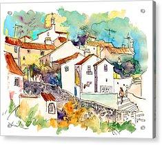 Castelo De Vide 07 Acrylic Print by Miki De Goodaboom