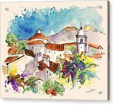 Castelo De Vide In Portugal 01 Acrylic Print by Miki De Goodaboom