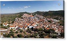 Castelo De Vide Rooftops Acrylic Print by Jose Elias - Sofia Pereira