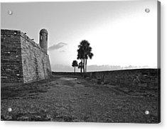 Castillo De San Marcos View 2 Acrylic Print