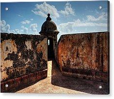 Castillo San Felipe Del Morro 005 Acrylic Print by Lance Vaughn