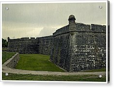 Castillo San Marcos 5 Acrylic Print by Laurie Perry