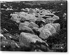 Castle Beach Rocks Acrylic Print