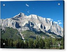 917a Castle Cliffs Canada Acrylic Print