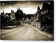 Acrylic Print featuring the photograph Castle Combe  by Stewart Scott