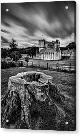 Castle Fraser Acrylic Print by Dave Bowman
