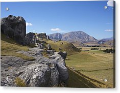 Acrylic Print featuring the photograph Castle Hill #6 by Stuart Litoff