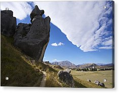 Acrylic Print featuring the photograph Castle Hill #7 by Stuart Litoff