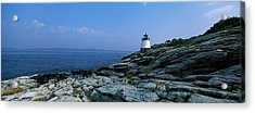 Castle Hill Lighthouse At The Seaside Acrylic Print