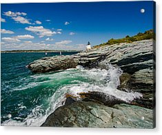 Castle Hill Lighthouse Acrylic Print