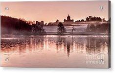 Castle Howard Dawn Acrylic Print by Janet Burdon