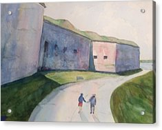 Castle Island Acrylic Print by Pat Steiner