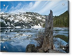 Castle Lake At Dawn Acrylic Print