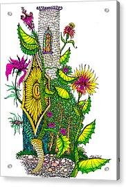Castle Lock Acrylic Print
