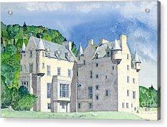 Castle Menzies Acrylic Print