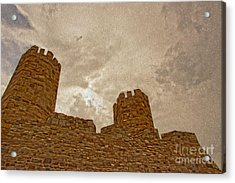 Castle  Acrylic Print by Nur Roy