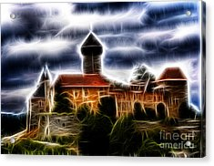 castle of the holy order - Sovinec Acrylic Print