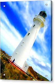 Castle Point Lighthouse Acrylic Print
