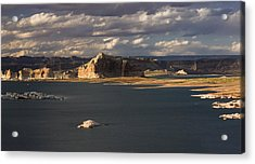 Castle Rock Sunset Acrylic Print