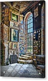 Castle Saloon Acrylic Print