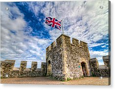Castle Top Acrylic Print by Tim Stanley
