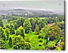 View From The Castle Acrylic Print