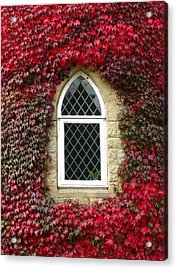 Castle Window Acrylic Print