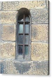 Castle Window Acrylic Print by James Potts