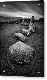 Castlerigg Stone Circle Acrylic Print by Dave Bowman