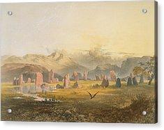 Castlerigg Stone Circle Near Keswick Acrylic Print by James Baker Pyne