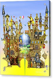 Castles In The Air  Acrylic Print by Colin Thompson