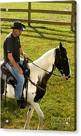 Casual Ride Acrylic Print