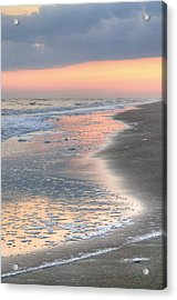 Caswell Beach. Acrylic Print by JC Findley