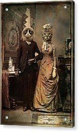 Cat Couple Acrylic Print