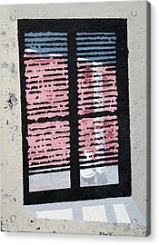 Cat N Window Acrylic Print