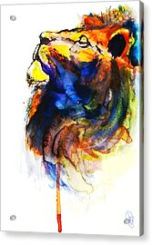 Cat Of A Different Color Acrylic Print