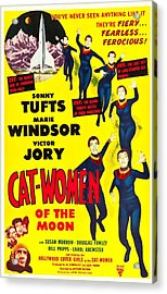 Cat-women Of The Moon, Us Poster, 1953 Acrylic Print by Everett