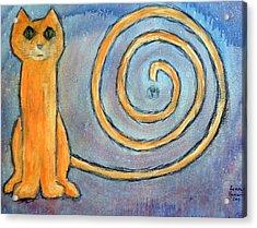 Cat World Acrylic Print
